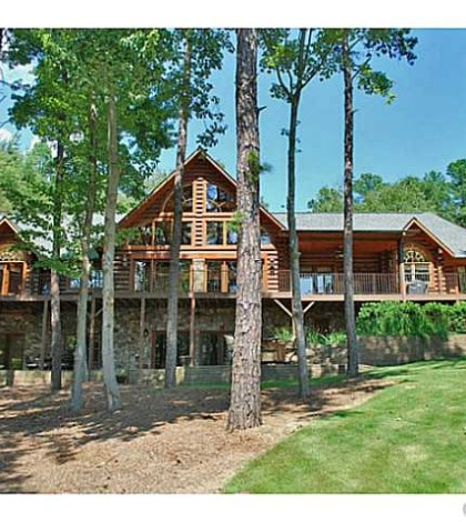 Lake Norman Waterfront Log Homes